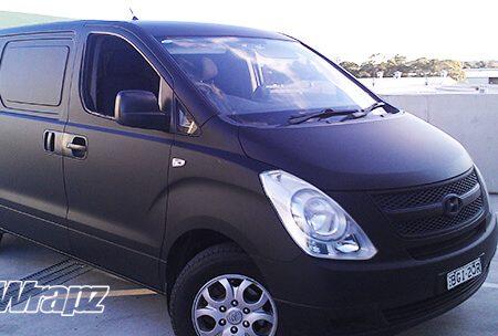 Hyundai Van – Matte Black